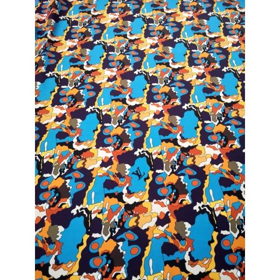 Silk crepe de chine Louis Vuitton