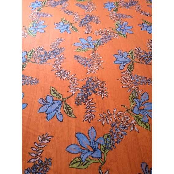 Silk Chiffon printed