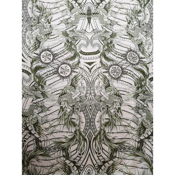 Silk Chiffon printed John Richmond