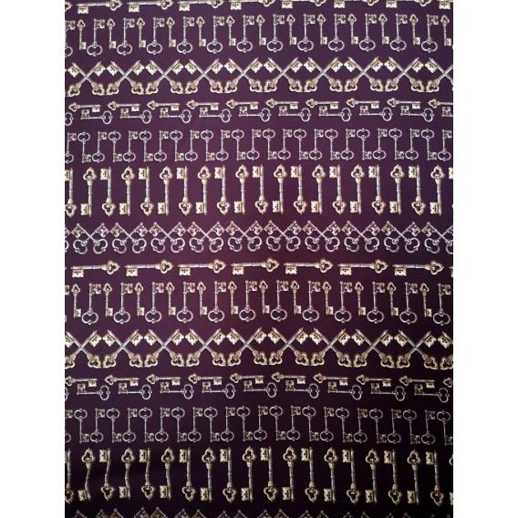 Silk crepe dress fabric DOLCE&GABBANA
