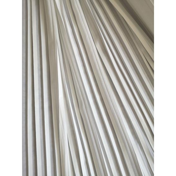 Biele plissé