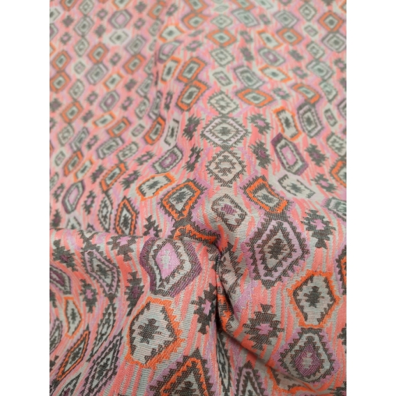 Cotton jacquard