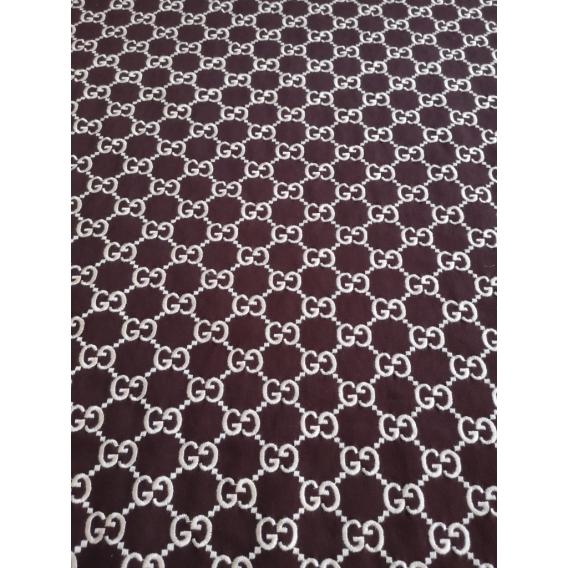 Cotton embroidery fabric GUCCI